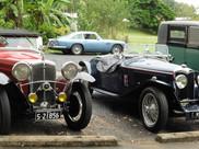 Wolseley Hornet Special, Riley,  Aston Martin lurking