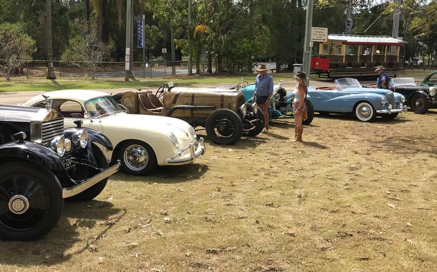 R-R, early Porche, Chrysler Imperial, L-D, Sunbeam Alpine
