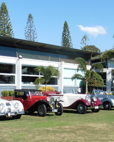 The lineup - mid-winter in Queensland