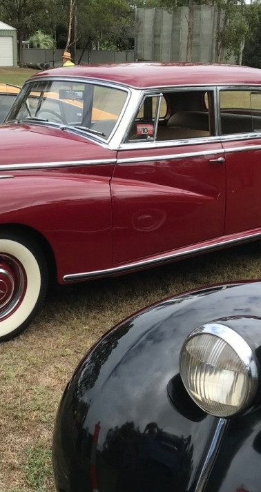 Trans-Atlantic excellence: Packard and Mercedes-Benz