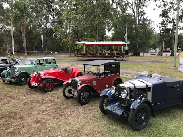 From right:  Riley, Austin, Fiat, Wolseley