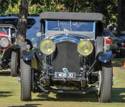 Rarely seen: 4-litre Bentley