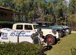 Studebaker, Alvis,, Hudson, Rolls-Royce