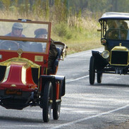 Renault and Ford - very representative of Australia's pre-1919 car population