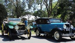 Napier and 1930 Chevrolet