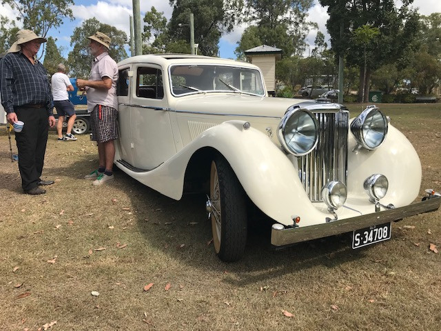Peter Gross' Mk IV Jaguar