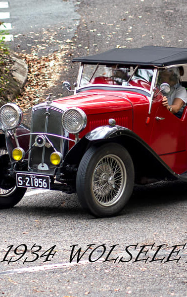 Wolseley Hornet Special heading home