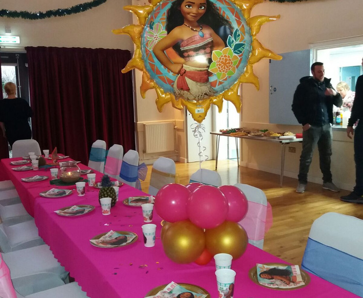 Moana Party Theme