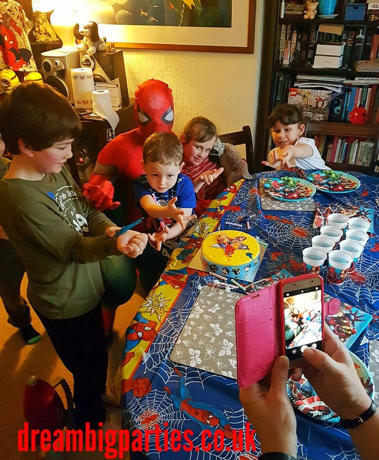 Spiderman Party Appearance