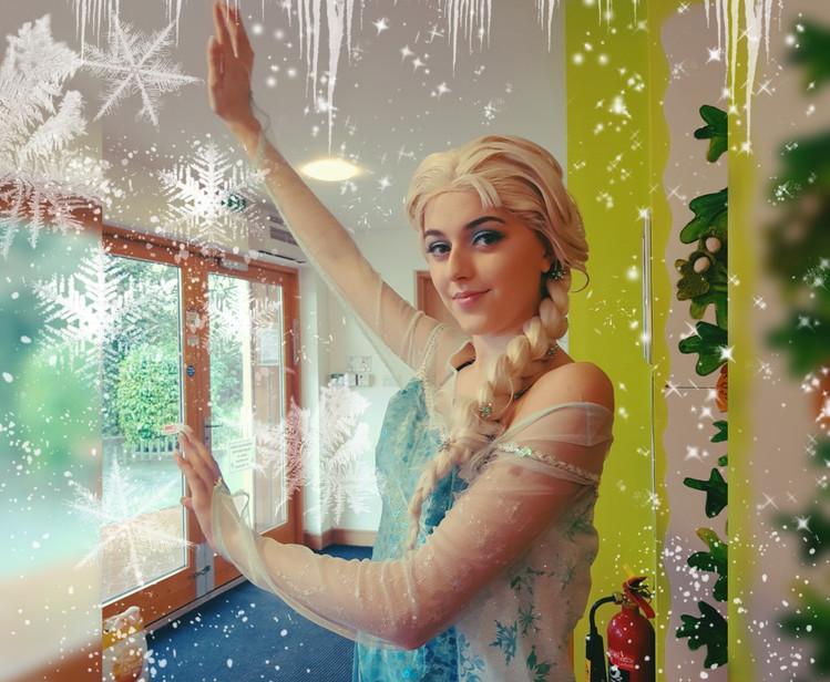 Elsa Frozen Party