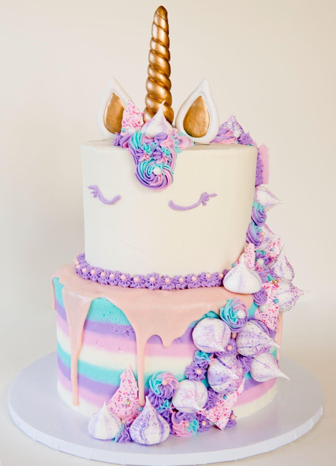 Large Unicorn Cake Idea