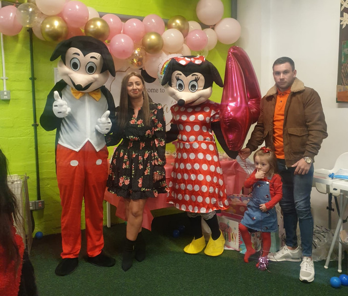 Mickey and Minnie Party Appearance