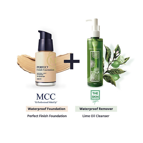 1+1 Waterproof Package MCC FOUNDATION+LIME OIL CLEANSER