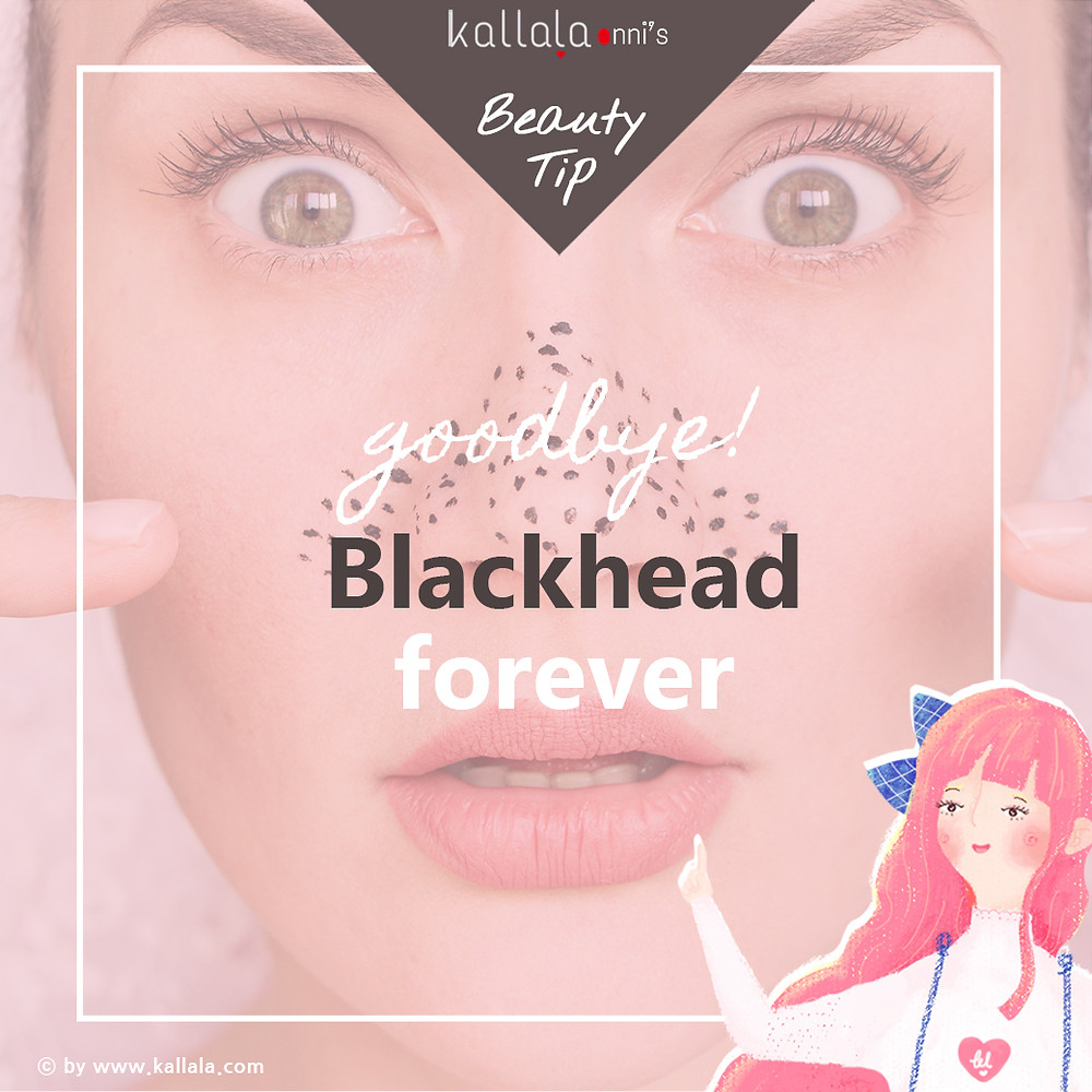 goodbye! Blackhead forever by kallala