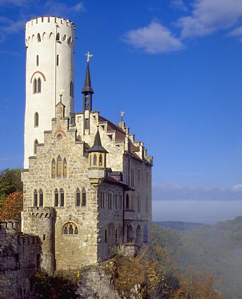 Castle Liechtenstein Side View
