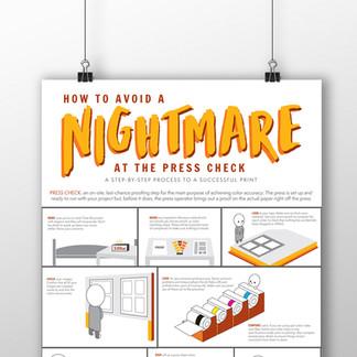 Press Check Infographic