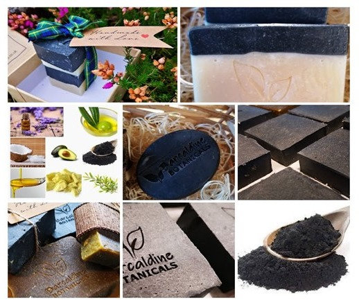 Activated Charcoal Deep Cleansing Oval Soap Bar