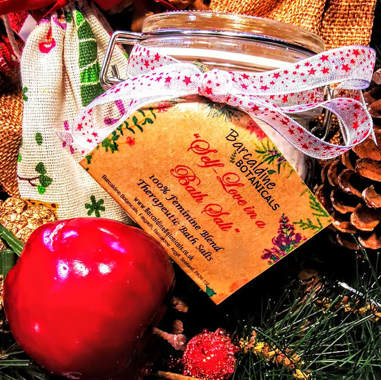 Christmas Feminine Blend Therapeutic Bath Salts
