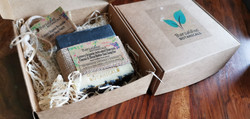 Soap Gift Boxes with Sisal Pouch (2)