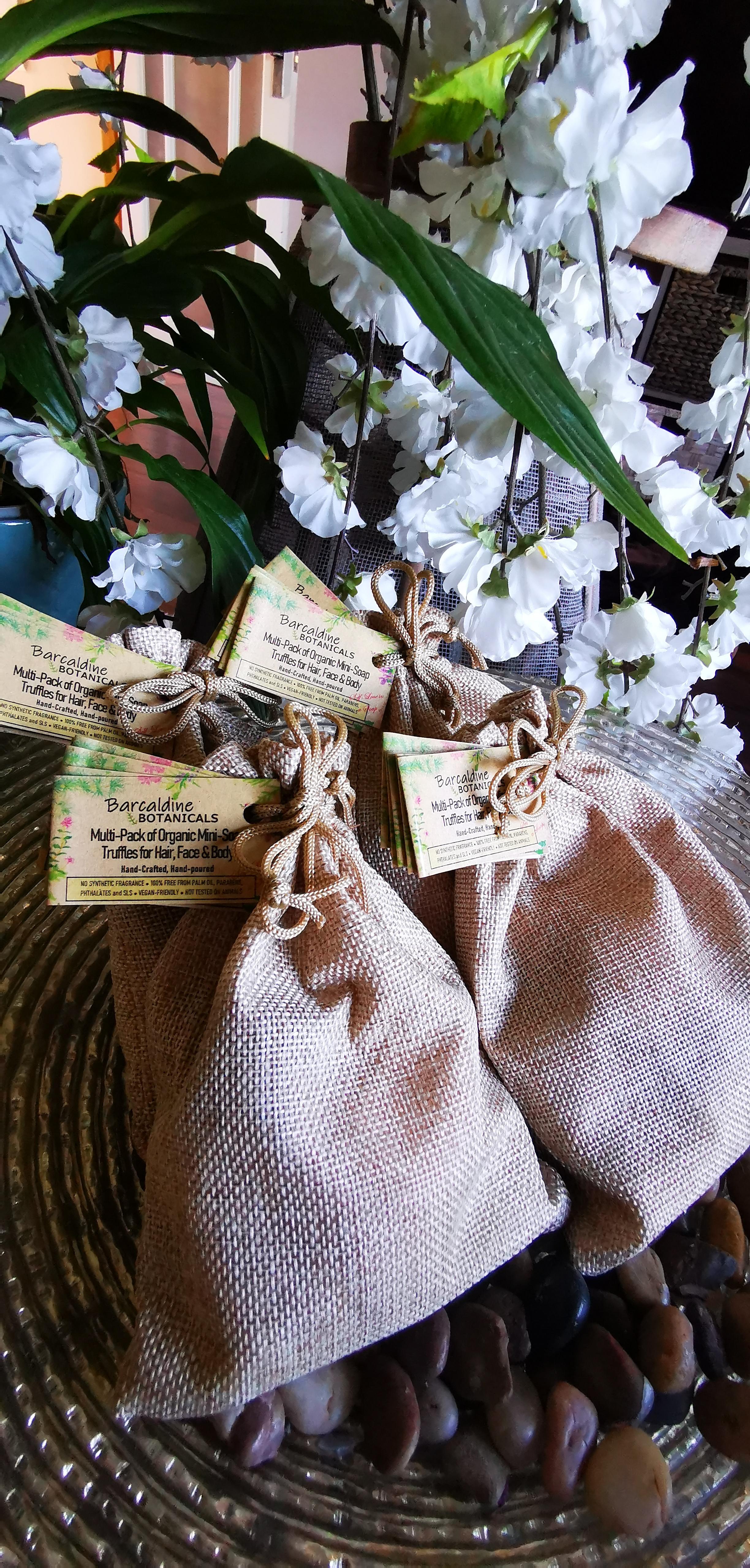 Multi-pack mini soap truffles 1