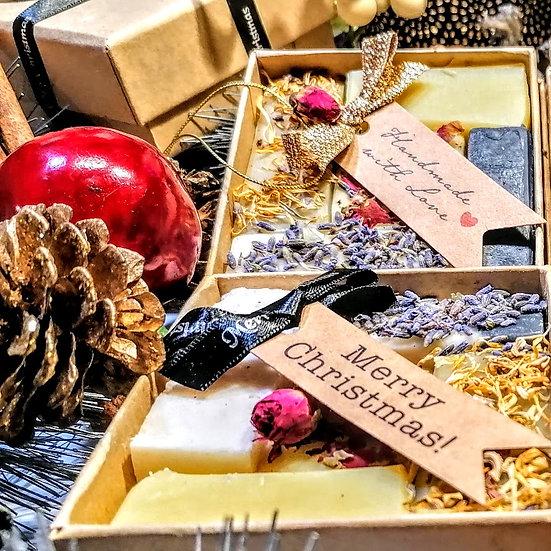 Christmas Luxury Organic Soap Truffle Gift Box