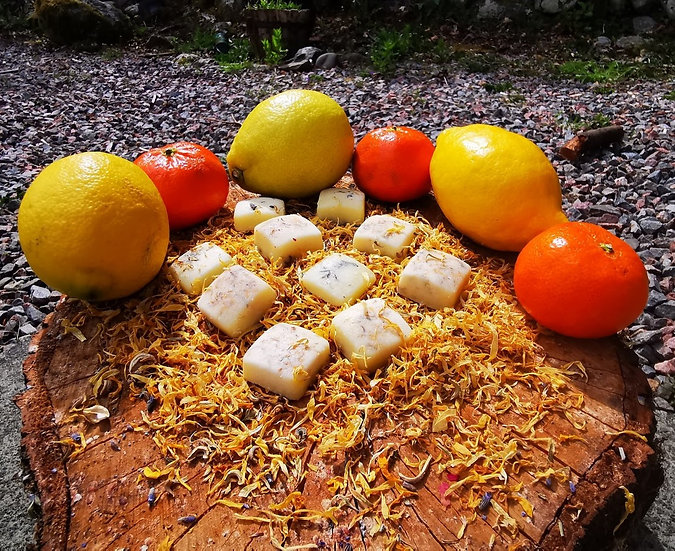 Orange and Lemon Body Butter Melts