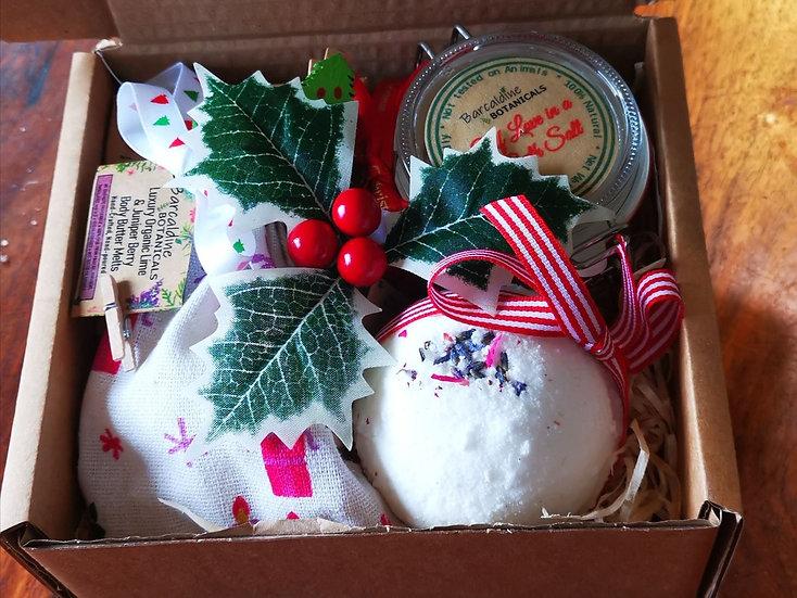 Christmas Lavender, Spearmint and Patchouli Natural Bath Bombs