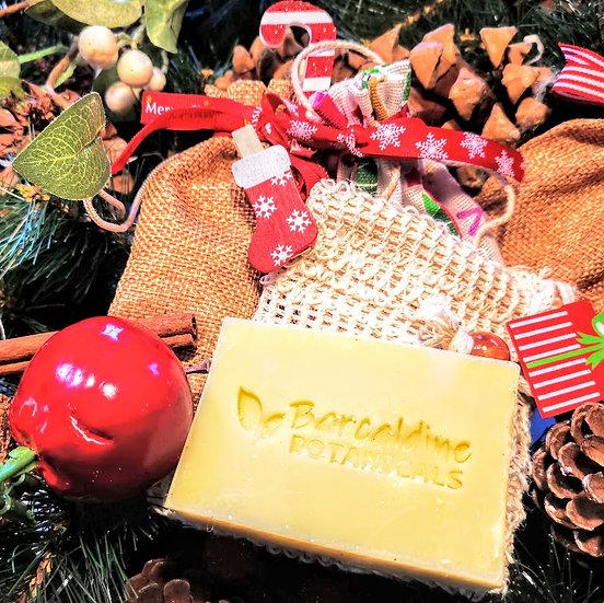 Christmas Avocado and Peppermint Shampoo Soap