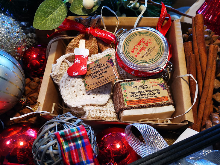 Christmas Luxury Organic Gift Set - Medium