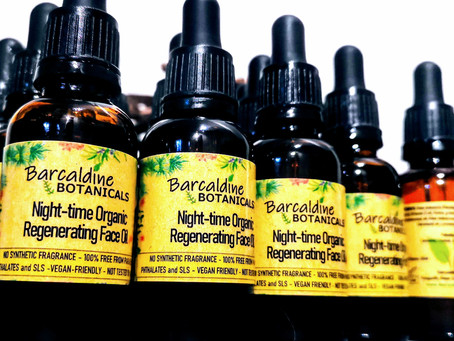 100% Organic Regenerating Facial Night Oil - Introductory Offer!
