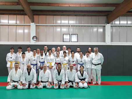 Cours commun Taekwondo-Aïkido