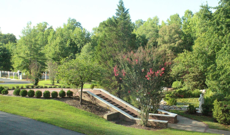 St. Bede Prayer Garden