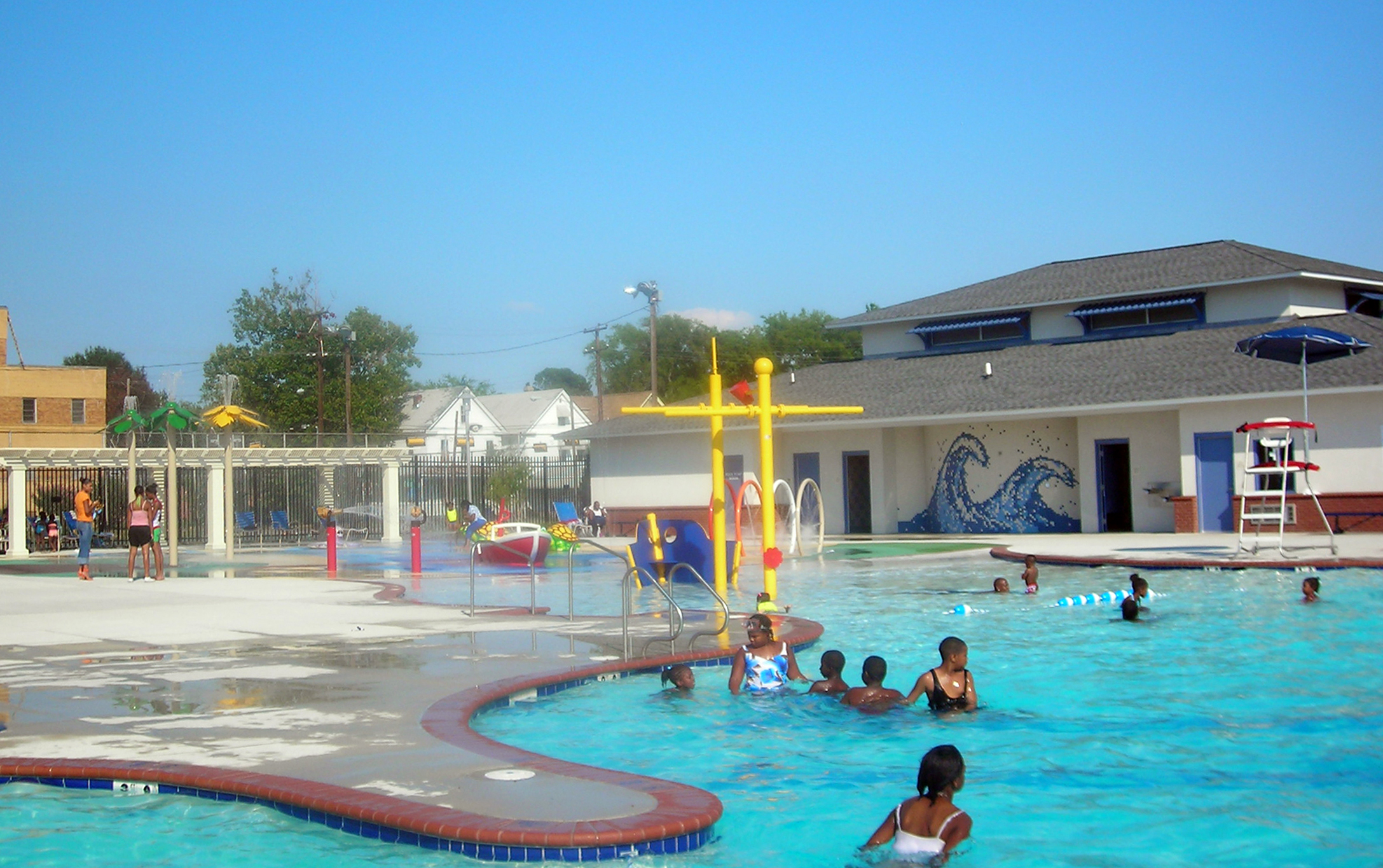 Doris Miller Pool Building