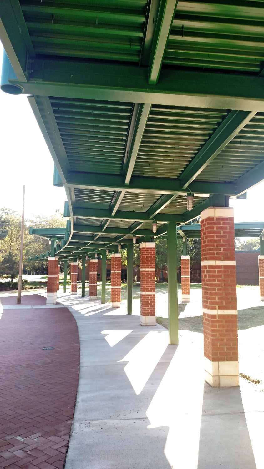 DJM Covered Walkway