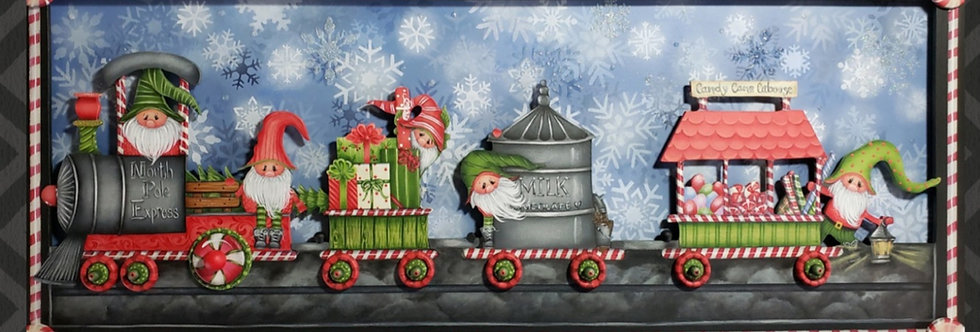 North Pole Express paper packet