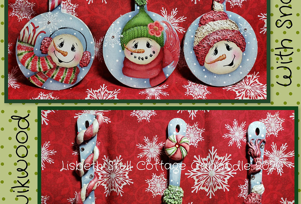 Flakey Friends Ornaments ePacket