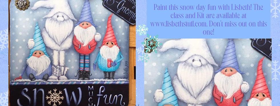 Snow Much Fun! Class