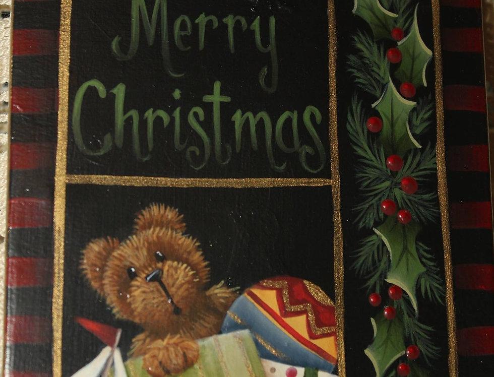 Christmas Sampler Ornament