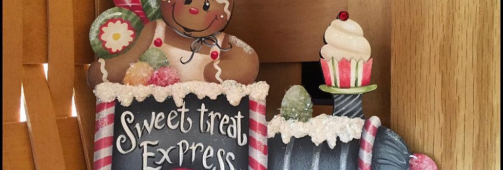 Treat Train Ornaments