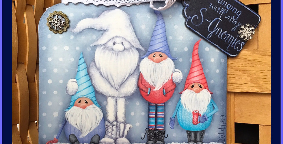 Snow Much Fun with my S-Gnomies!