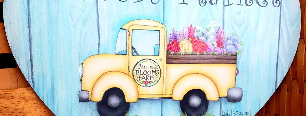 Yellow Springtime Truck