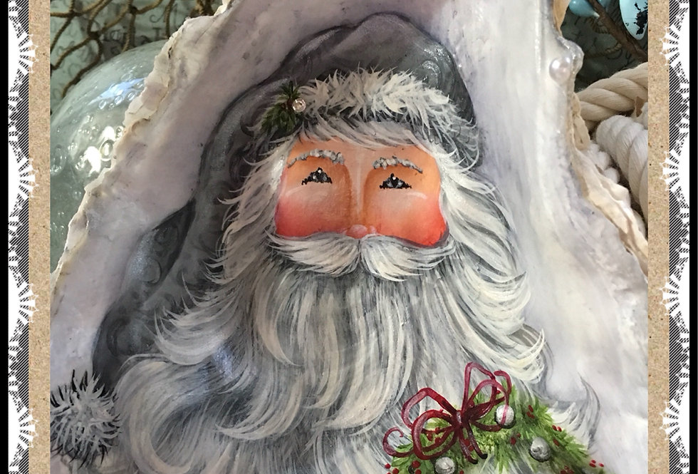 Silver Santa