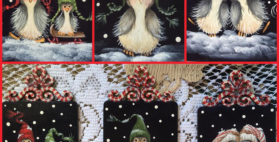 Penguins on Parade Ornaments ePacket