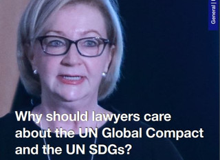 Why should lawyers care about the United Nations Global Compact?
