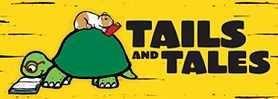 Tails and Tales poster promoting New Hampshire's Summer Reading Program