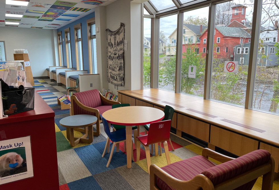 A beautiful viewing area in the Children's Room