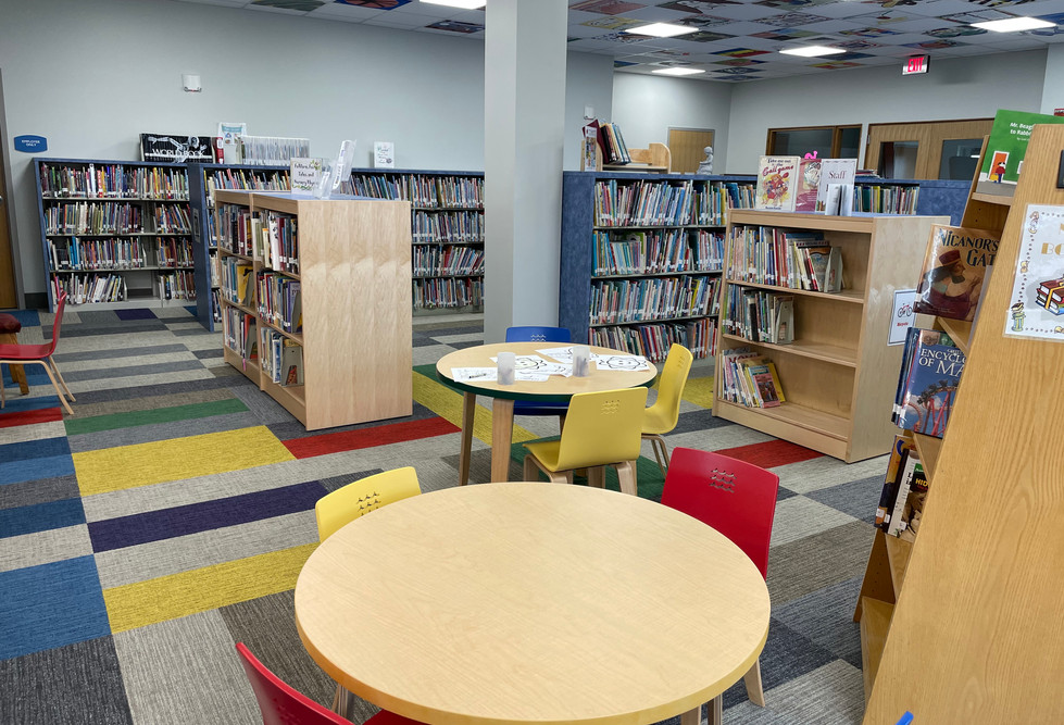 Children's Room Early Reader Area