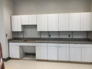 Cabinets in the Program Room