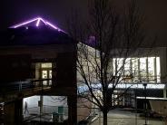 Roof lighting up