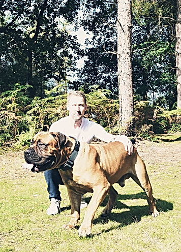Taur and me at Delamere 2020 at 22 month